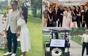 Loạt ảnh hiếm hoi trong đám cưới MC Vũ Thu Hoài ở sân golf