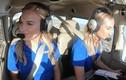 Bất ngờ những cặp song sinh cùng trở thành phi công