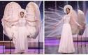 Khánh Vân gặp sự cố khi thi quốc phục ở Miss Universe