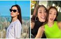 Khánh Vân lộ body gầy gò, hội ngộ bạn thân hậu Miss Universe 2020