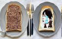 Những lát bánh mì sandwich đẹp như tranh của cô gái Nhật Bản