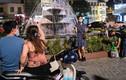 Giới trẻ Hà Nội xuống phố hóng gió dù trời nóng kỷ lục