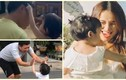 Tan chảy khoảnh khắc vợ chồng Trường Giang bên con gái