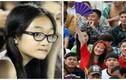 Thiếu nữ Cần Thơ xinh đẹp cháy hết mình với U19 HAGL