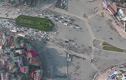 Cận cảnh giao lộ phân luồng kỳ cục nhất Hà Nội