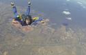 Kinh hoàng cảnh vận động viên nhảy dù ngất trên không trung