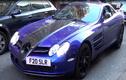 """""""Mũi tên bạc"""" Mercedes SLR McLaren màu lạ gầm rú tại London"""