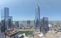 Cảnh xây dựng trung tâm thương mại thế giới trong 2 phút