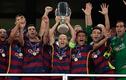 Màn ăn mừng của Barca khi giành Siêu cúp châu Âu 2015