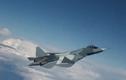 """""""Đại bàng sắt"""" T-50 của Nga tác chiến tuyệt vời trên không"""