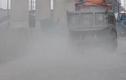 Cảnh bụi mù kinh hoàng bủa vây Xa lộ Hà Nội