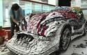 Chiêm ngưỡng siêu xe làm từ 25000 chiếc điện thoại di động