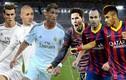 10 bàn thắng đẹp nhất trong cuộc đối đầu Real và Barca