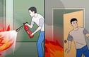 Những kỹ năng xử lý để giữ mạng sông khi cháy nhà cao tầng