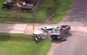 Cướp xe bán tải chạy trốn gây tai nạn