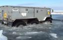 """Xem """"Quái vật lưỡng cư"""" của Nga vượt tuyết, băng biển thần sầu"""