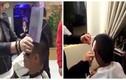 Ngỡ ngàng clip cắt tóc bằng dao phay, bật lửa