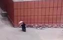 Clip: Cái kết cay đắng khi đi xe máy cầm ô