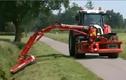 Tận mắt công nghệ cắt cỏ đường cao tốc ở nước người ta