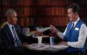 Tổng thống Obama tập phỏng vấn xin việc sau khi rời Nhà Trắng