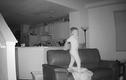 Kiểm tra camera, bố mẹ ngỡ ngàng trước hành động quái dị của con