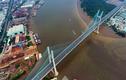 Ảnh cây cầu biểu tượng của TP HCM nhìn từ trên cao tuyệt đẹp