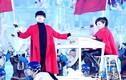 Ca sĩ Trung Quốc gặp nạn trên sân khấu khi diễn với chồng