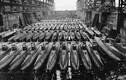 Rợn người trong xưởng tàu ngầm mini của Nhật Bản