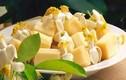 Cách làm món mía ướp hoa bưởi đơn giản, thơm ngon