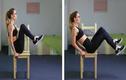 4 bài tập với ghế giúp bụng phẳng lỳ cho phái đẹp