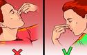 Sai lầm khi xử lý chảy máu cam nhiều người mắc phải