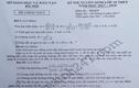 Đề thi và đáp án chi tiết môn Toán vào lớp 10 của Hà Nội