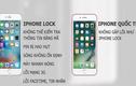 Phân biệt cực đơn giản iPhone lock và iPhone quốc tế