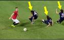 Những pha lừa bóng kỹ thuật qua các cầu thủ đối phương