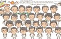 """Nữ phóng viên Nhật tung loạt tranh vẽ """"phát cuồng"""" U19 VN"""