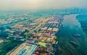 Toàn cảnh cảng Trường Thọ, một phần của thành phố phía đông Sài Gòn