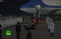 Chuyên cơ Air Force One của Tổng thống Trump đã hạ cánh tại sân bay Nội Bài