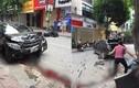 Hà Nội: Xe ô tô đâm trực diện người mẹ chở con đi học