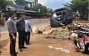 """Xe tải lao vào chợ ở Đắk Nông: """"Con thấy xe tải đè mẹ cùng nhiều người"""""""