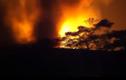 Clip: Cháy kinh hoàng ở KCN Quang Minh, Hà Nội