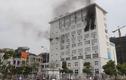 Cháy ở Trường Bồi dưỡng cán bộ Giáo dục Hà Nội