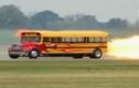 Xe buýt cực khủng với động cơ phản lực