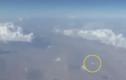 Sửng sốt đĩa bay xuất hiện bên cạnh máy bay chở khách