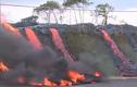 Cận cảnh dung nham tàn phá thị trấn ở Hawaii