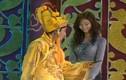 Bật cười Ngọc Hoàng mê gái tít mắt trong Táo quân