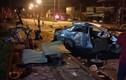 Video cảnh xe khách tông móp đầu ô tô khiến 3 người chết ở Nghệ An