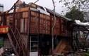 Cảnh tượng nhà cửa tan hoang sau trận lốc cực mạnh ở Mộc Châu