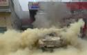 Video: Ô tô bốc cháy dữ dội ngay tại cây xăng
