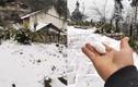 Y Tý, Lào Cai tuyết rơi dày đặc, phủ trắng đường đi