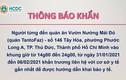 Thông báo khẩn: TP HCM truy tìm người từng đến 2 địa điểm ở Gò Vấp và Thủ Đức